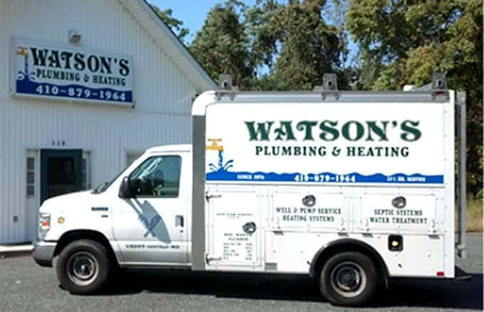 Watson Plumbing heating and cooling MD